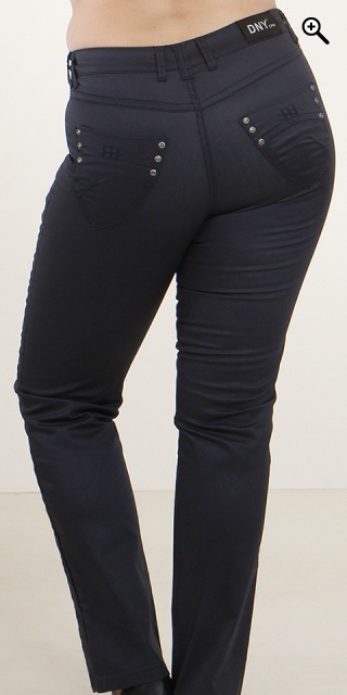 DNY - Coated mody jeans