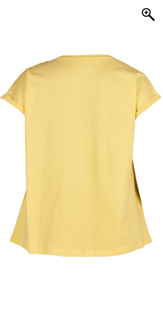 Zizzi - T-shirt with embroidery anglaise