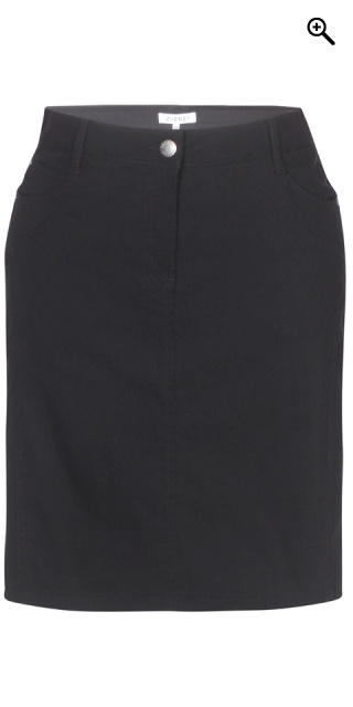 Zhenzi - Boyer bengalin skirt - Black