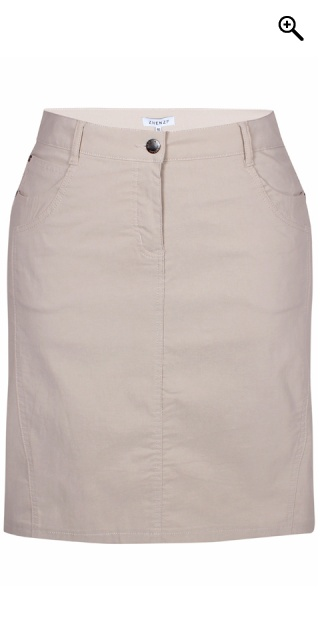 Zhenzi - Boyer bengalin skirt - Sand