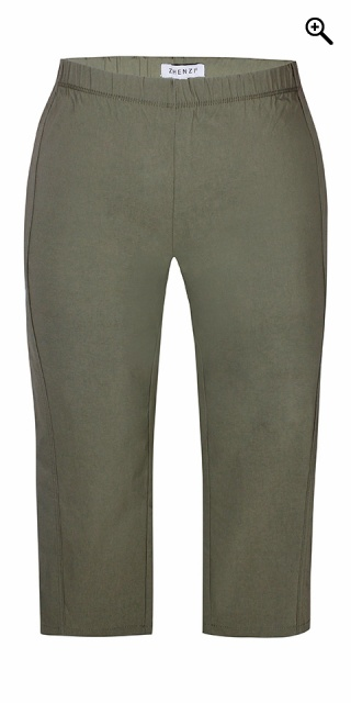 Zhenzi - Twist bengalin capri leggings - Army way