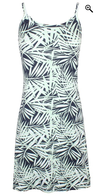 Zhenzi - Coty viscose dress with print - Mist green