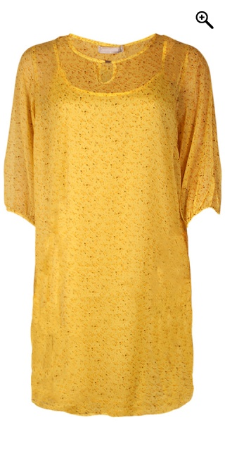 Cassiopeia - Henriette dress - Yellow