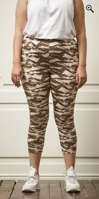 Zhenzi - Camouflage 3/4 leggings - Light camouflage