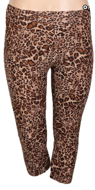 Zhenzi - Leopard 3/4 leggings