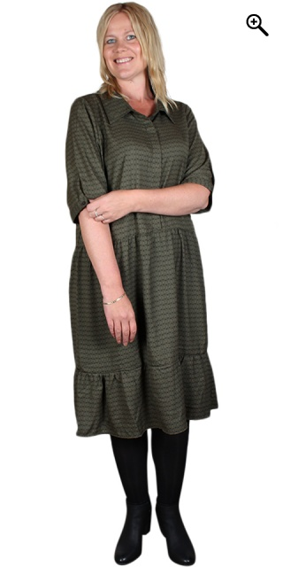 Cassiopeia - Kimmie dress - Green combi