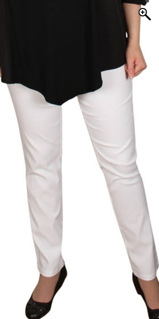 Zhenzi - Twist bengalin leggings - White
