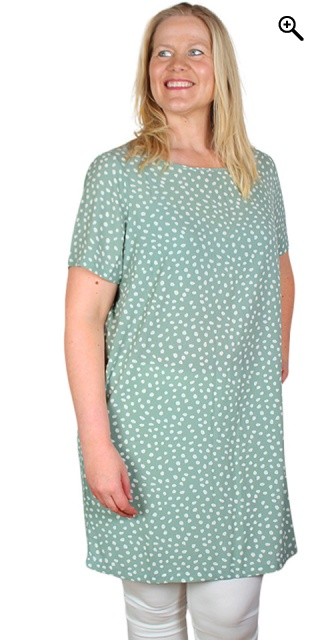 ONLY Carmakoma - Luxina dress - Chinois green