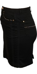 Cassiopeia - Spain skirt with 4 pockets, stretch and belt straps