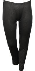 Zhenzi - Flot legging med blankt præget dyreprint. elastik i hele taljen