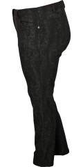 Zhenzi - Strech bengalin twist legging med smart snake print og super strech, elastik i hele taljen, 5 lommer