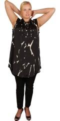 DNY (MARC LAUGE) - Flot lang gennemknappet skjorte uden ærmer
