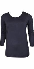 Zhenzi - Langærmet t-shirt med rund hals