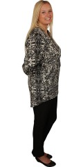 Cassiopeia - Tunica with 3/4 sleeves and , light a-shaped