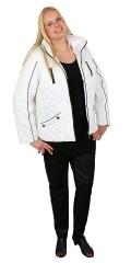 Handberg - Fantastisk flott eksklusivt høst jakke med avtakbar hette.