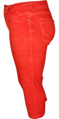 Handberg - Impressive nice pigment dyed stump pants with super stretch, adjustable rubber band in the waist and belt straps