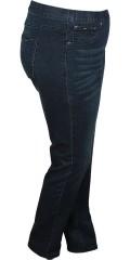 DNY (MARC LAUGE) - Ny dongeri (hiba) strekk jeans med slitt 80 cm. og 86 cm. med strikk i hele taljen.
