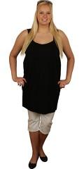Handberg - Tunika kjole med bredde stropper