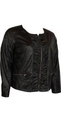 Zhenzi - Fine kort jakke i sky-kvalitet med tynt for