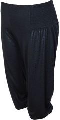 Zhenzi - Stumpe buks med elastik i taljen og smock i begge sider, smart til hverdag og fest