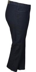 Zhenzi - Så er de her igen: jazzy pants denim med strech og elastik i hele taljen