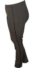 Zhenzi - Flott legging i strikk kvalitet med blank galon i siden og strikk i hele taljen