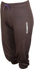 PIECE OF CAKE - Fitness bukser med vid strikk i linning og ribbe sluttning