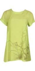 DNY (MARC LAUGE) - Fine a-formet tunika med trykk, korte ermer og lommer i sidene