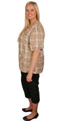 DNY (MARC LAUGE) - Piratbuks med 2 baglommer, elastik i hele taljen og strech