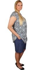 Zhenzi - Shorts med elastik i hele taljen, med 2 lommer foran