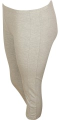 Zhenzi - Knæ lang legging med elastik i hele taljen, smart afslutning i benene