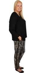 Cassiopeia - Berri sweatpants med strikk og line i hele taljen samt 2 lommer