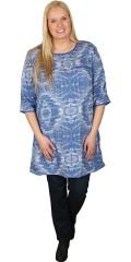 Cassiopeia - Lätt och fina tunika/klänning med 3/4 ärmar. Blixtlås i hals