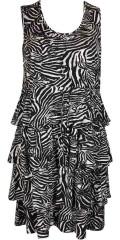 Handberg - En verkligen fest klänning med volanger hela vägen rund som giva en fantastisk vacker falla