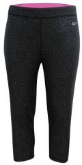 Studio - Fitness-bukser, kort model med strikk i taljen og litt lomme innvendig til mynt eller nøkkel