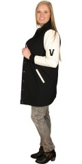 "Veto - Long smart ""college"" jacket/cardigan"