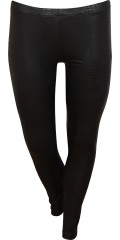 Cassiopeia - Snakeskin leggings with rubber band in whole the waist