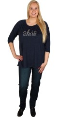 Cassiopeia - T-shirt with round neck and 3/4 sleeves