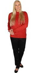 Cassiopeia - Roll collar knit with long sleeves