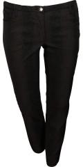 Zhenzi - Twist pants legging fit med strech og delvis elastik i taljen samt bæltestropper