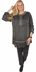 Zhenzi - Nice autumn tunica in crepet quality with long sleeves, there can draped