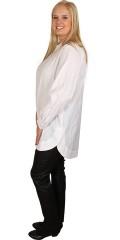 Gozzip - Flot skjorte med lange ærmer i a-facon