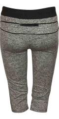 Studio - Fitness-bukser. kort model med elastik i taljen