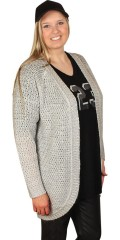 Cassiopeia - Soft cardigan as rounds
