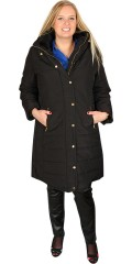 DNY (Marc Lauge) - Smart coat is closed with zipper and press studs