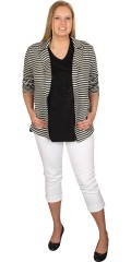 DNY (Marc Lauge) - Cardigan with 2 pockets with zipper
