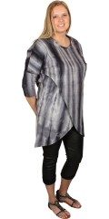 DNY (Marc Lauge) - Tunica blouse with 3/4 sleeves