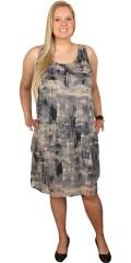 Zhenzi - Tunika kjole uden ærmer og med rund hals