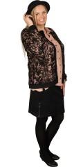 Zhenzi - Blonde cardigan med rund hals