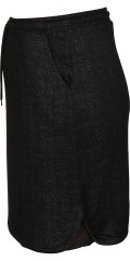 Zhenzi - Sporty nederdel med elastik i hele taljen